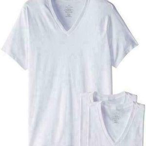 Calvin Klein Men's Short Sleeve 3 PACK White